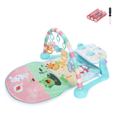 貝恩施嬰兒腳踏琴鋼琴健身架器新生兒寶寶音樂兒童玩具0-1歲3個月 【pastoerl動物園】