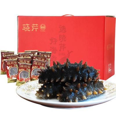 晓芹 海参 XiaoQin 大连晓芹即食海参 冷冻即食海参 8-10头/500克/包*3包 1500克 礼盒装