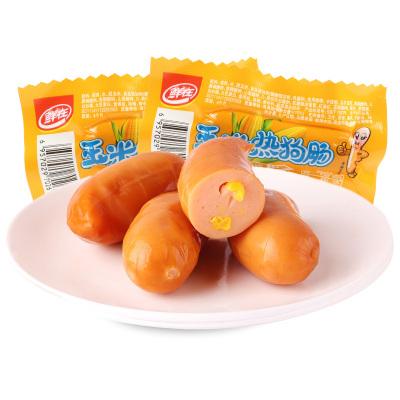 鮮在玉米熱狗腸28g*1根食品零售小吃香脆泡面搭檔火腿腸