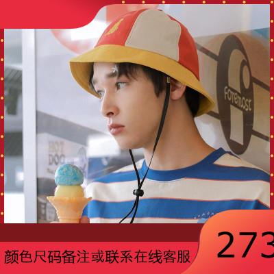 TYAKASHA塔卡沙馬戲團系列 2020春季新款拼色女漁夫帽子女