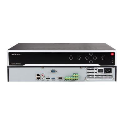 錄像機4盤位DS-7908N-I4網絡監控NVR硬盤錄像機4K高清800萬4盤位主機