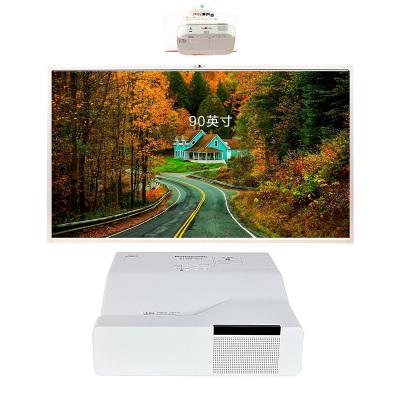 【套餐】NOMICO 90英寸智能会议触摸互动电子白板多媒体教学投影一体机(i5-4G)教育+松下GW301C投影仪