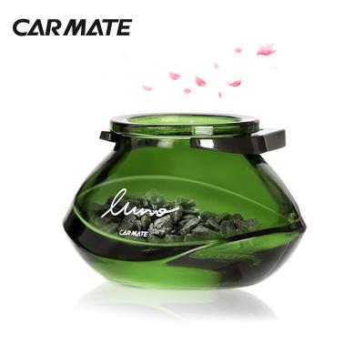快美特(CARMATE)汽车车载香水 露力沸石茶系列 空调出风口式 CFR773玫瑰