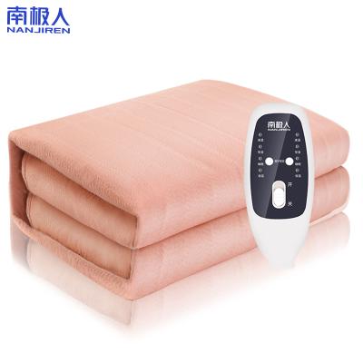 南極人(Nanjiren)電熱毯(1.8*1.5米)無紡布加大智能控溫自動斷電電熱墊 學生宿舍家用安全防水暖咖