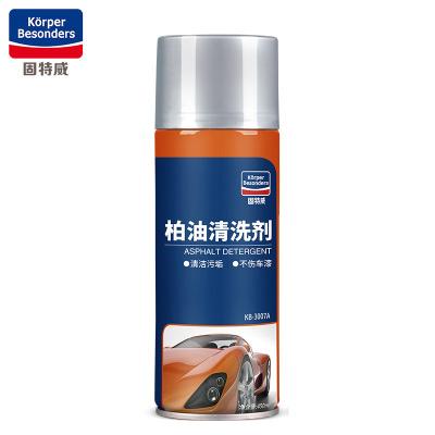 固特威 柏油清洗劑汽車用漆面蟲膠瀝青清潔劑車用除膠劑 柏油清潔 450ml*1瓶汽車通用Korper Besonders