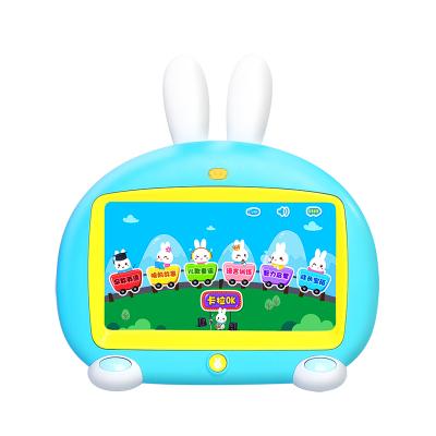 火火兔早教學習機I6C兒童英語視頻機兒童益智玩具男孩女孩 藍色