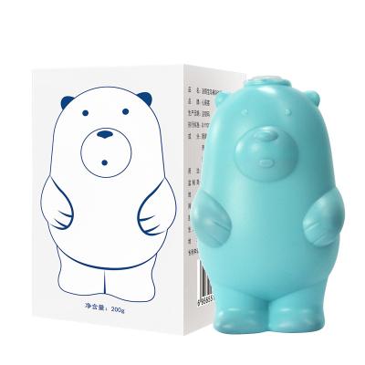 規格【 200g 5個裝】小熊藍泡泡潔廁靈馬桶清潔劑潔廁寶除臭去異味家用清香型