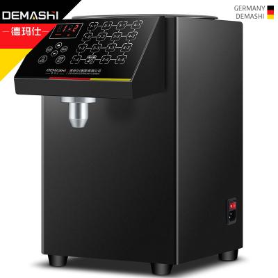 德玛仕(DEMASHI) 果糖机 果糖定量机 商用奶茶店全自动18年升级款 GTJ-16C(黑色款)