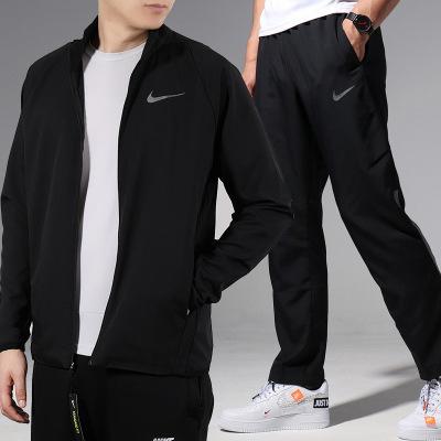 Nike/耐克 套装男 休闲运动服夹克外套透气小脚长裤800200-010 800202-010