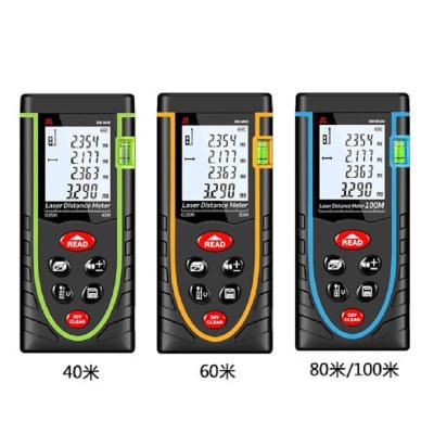 【規格:11.2*5*2.5 單位:cm 40/60/100米】手持式激光測距儀 高精度紅外線測量儀電子尺