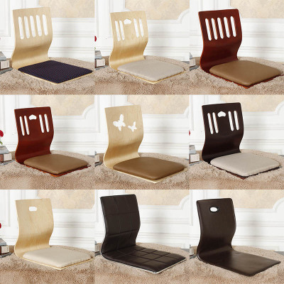 榻榻米和室椅懒人板凳床上椅子宿舍飘窗靠背座椅无腿椅子日韩坐垫