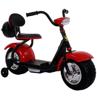 奇客童车306电动车2-6岁儿童电动摩托车三轮车早教功能可换挡男女宝宝可坐人小孩玩具车称重大于50kg电瓶车环保PVC