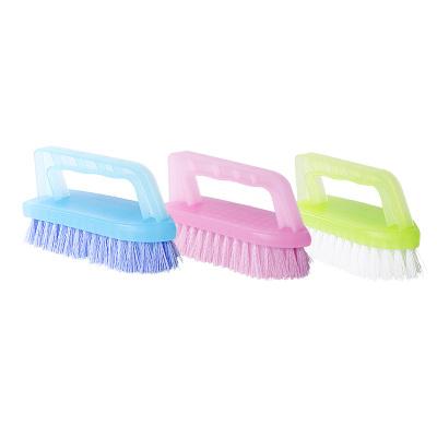 茶花刷子连体去污多用硬毛鞋刷洗鞋衣服清洁刷板刷鞋刷子洗衣刷