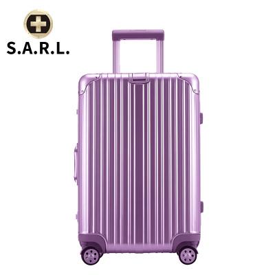 S.A.R.L брэндийн чемодан 78004 нил ягаан 22 инч