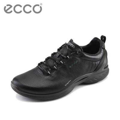 ECCO爱步休闲男士运动鞋 舒适透气鞋子男潮鞋 健步活力 837514