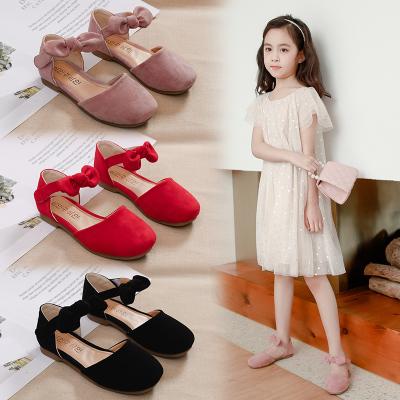 蒂布豆女童皮鞋單鞋春夏季新款童鞋公主鞋韓版中大童舞蹈鞋