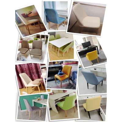歐若凡北歐靠背椅子家用臥室寫字書桌椅實木網紅餐廳現代簡約餐桌椅凳子