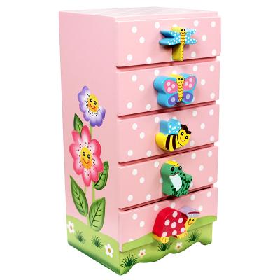 美國紛朵奇Fantasy Field兒童儲物架五格置物柜收納整理箱