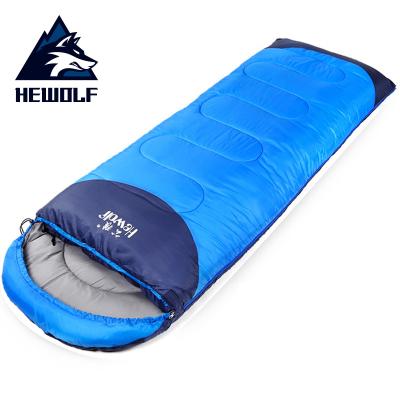 公狼(Hewolf)睡袋戶外成人信封式加厚保暖露營室內單人睡袋