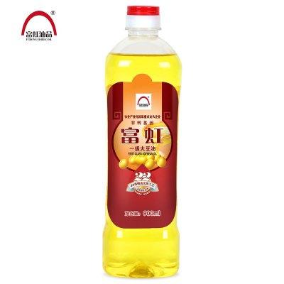 富虹油品900ml非转基因一级大豆油(48小时发货)