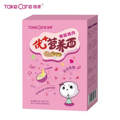 培康(Take care)寶寶面條 優加營養香菇雞肉面條150g