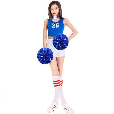 新款足球宝贝套装啦啦队服装车模演出服运动服健美操服