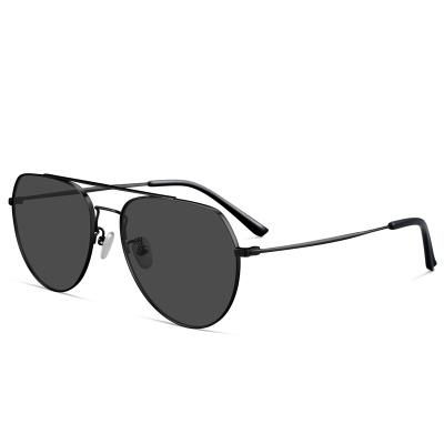 普萊斯(pulais)太陽鏡男款偏光蛤蟆墨鏡開車駕駛女司機專用漸變色運動眼鏡男女同款 7009 配單鏡框(適用無度數)
