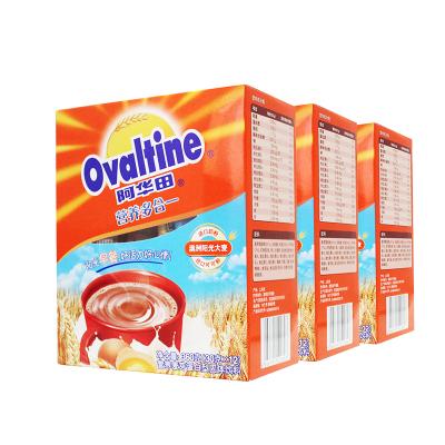 阿华田 Ovaltine coco粉营养多合一随身包冷巧克力速溶可可粉冲饮品(30g*12)3盒装