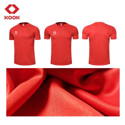 KOOK足球服套裝男孩小學生足球訓練服球定制比賽運動衣兒童短袖隊服