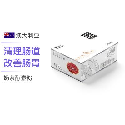 【angelababy景甜同款】BIO-E 酵素奶茶味塑身粉(16g/条)*28条/盒 澳洲进口 粉剂