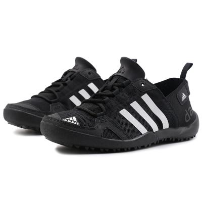 Adidas/阿迪达斯 男子运动鞋透气户外溯溪鞋通用系带涉水鞋S77946 Q21031