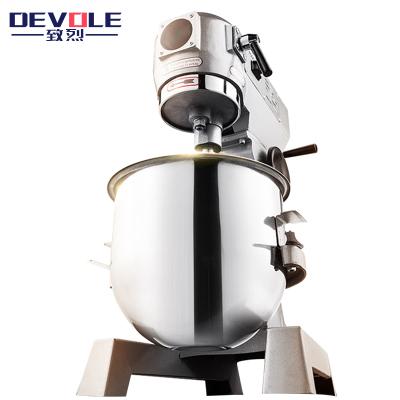 致烈(Devole)和面机商用 15升商用不锈钢搅拌机 大型全自动多功能厨师机揉面机打蛋器 鲜奶机打面机