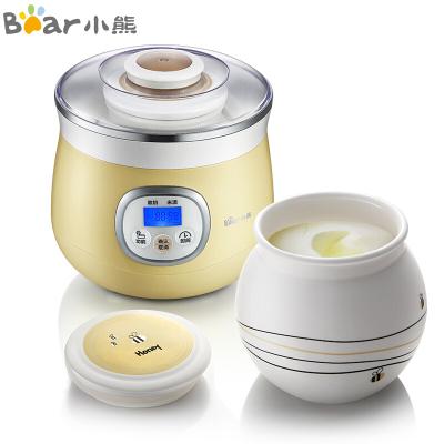 小熊(Bear)米酒酸奶機 全自動家用陶瓷內膽 微電腦定時蜜罐甜酒機1L單膽 SNJ-530
