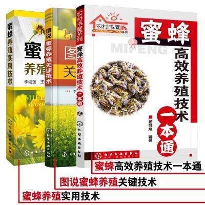 蜜蜂養殖專業技術大全(3冊) 李繼蓮,楊冠煌 編 專業科技 文軒網