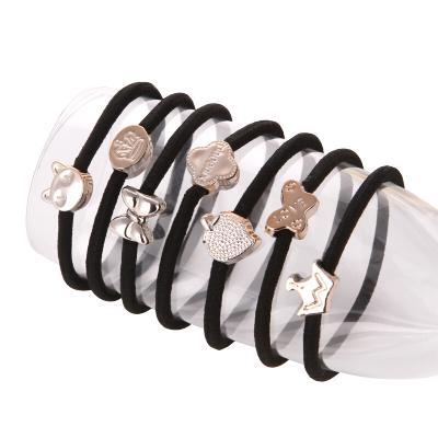 乾越(qianyue)頭繩100根韓國小清新發繩森女系成人簡約發圈頭飾扎頭發橡皮筋發飾個性 100根