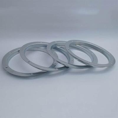 角鋼鋼帶風管圓形鍍鋅法蘭風機焊接碳鋼角鐵沖壓304不銹鋼法蘭片