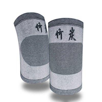 聚福星護膝 竹炭保暖護膝老寒腿 高彈透氣騎行爬山保護膝關節四季穿戴護具 男女通用運動護膝
