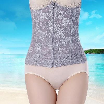 加强燃脂薄款产后束腰收腹腰带塑形瘦腰瘦身减肚子塑身美体衣腰封