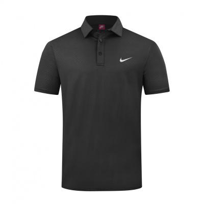 夏新透气高尔夫服装男 高尔夫男装短袖T恤 速干免烫修身球衣队服