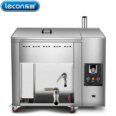 lecon乐创 电热台式25升油水分离油炸锅商用燃气煤气单缸炸炉大容量温控油条机电炸锅