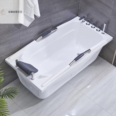 2020年新款酒店工程成人家用網紅老人浴缸浴盆雙層保溫亞克力式小戶型