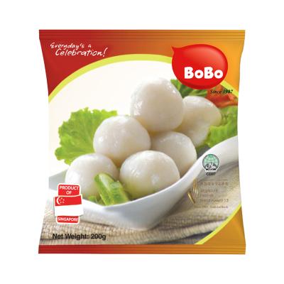 波波(BOBO)熟白魚丸 200g 新加坡進口 火鍋食材