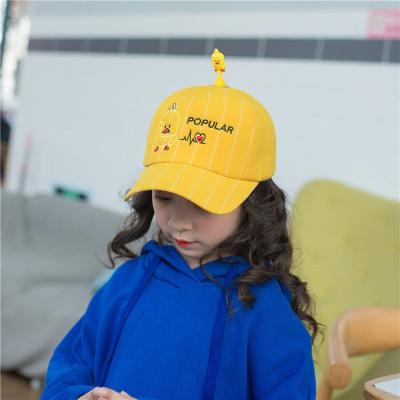 2019儿童宝宝棒球帽子2-7岁男童3女小孩4鸭舌帽5春夏季眼遮阳帽新款 威珺