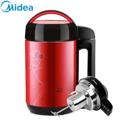 美的(Midea)DE12G13无网研磨内壁304不锈钢豆浆机1.2L