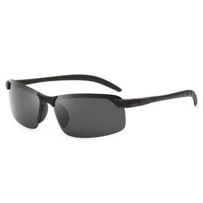 变色偏光太阳镜 男士运动户外骑行驾驶司机镜 钓鱼眼镜