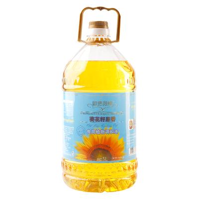 欧德薇榄 食用油 葵花籽食用调和油5L 量贩装 中益出品