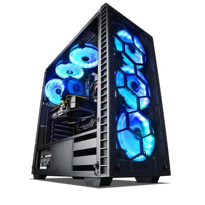 寧美國度 臺式電腦主機i7 9700F/GeForce GTX1660/1660Super 16G大內存全套高配吃雞游戲臺式機水冷diy組裝整機
