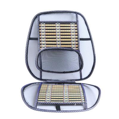 夏季腰靠按摩坐墊透氣墊車用鋼絲座墊涼墊閃電客汽車用品