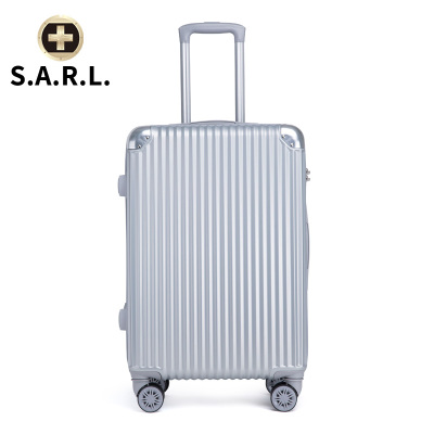 S.A.R.L брэндийн чемодан 78001 мөнгөлөг 22 инч