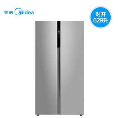 【官方授權優惠品】Midea/美的 BCD-629WKPZM(E) 家用雙開 風冷 多維變頻智能對開門電冰箱